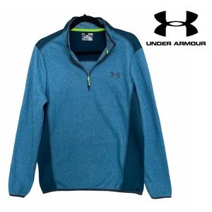 Under Armour Coldgear Half Zip Pullover Sweater